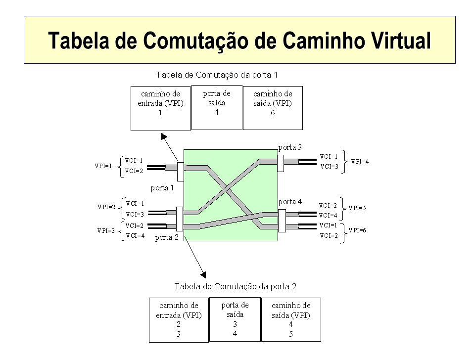 Tabela de Comutação de Caminho Virtual