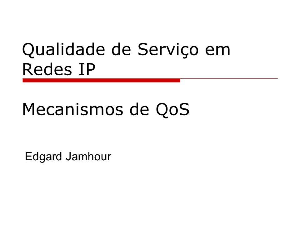 Qualidade de Serviço em Redes IP Mecanismos de QoS Edgard Jamhour