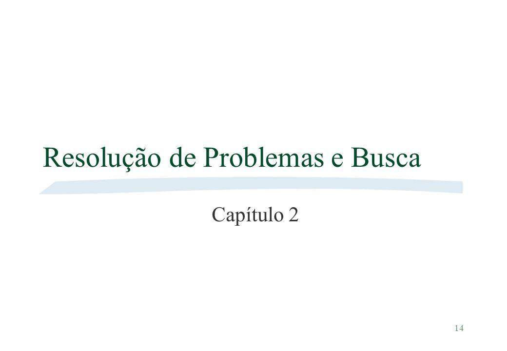14 Resolução de Problemas e Busca Capítulo 2
