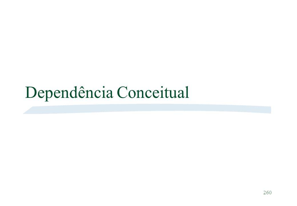 260 Dependência Conceitual