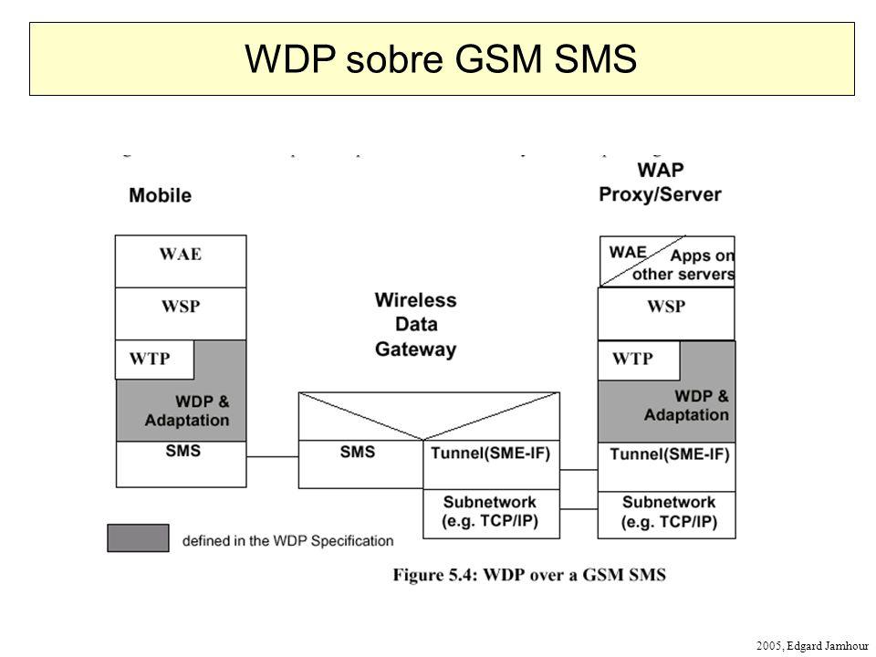 2005, Edgard Jamhour WDP sobre GSM SMS