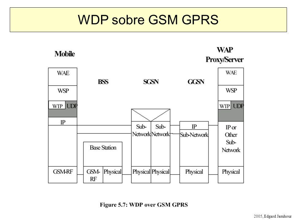 2005, Edgard Jamhour WDP sobre GSM GPRS