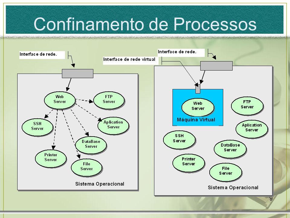 9 Confinamento de Processos