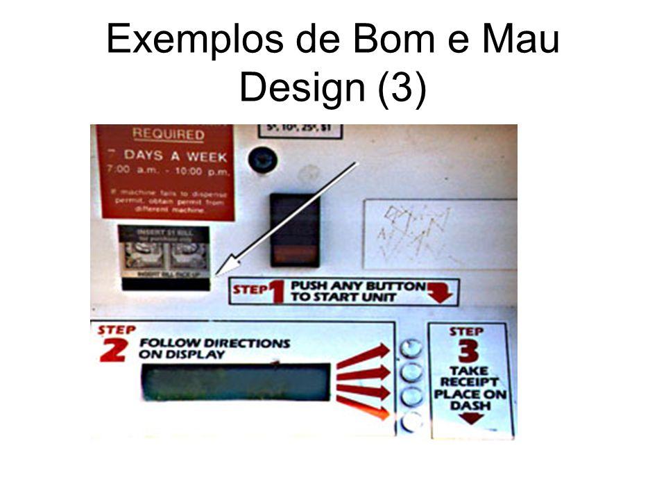 Exemplos de Bom e Mau Design (3)