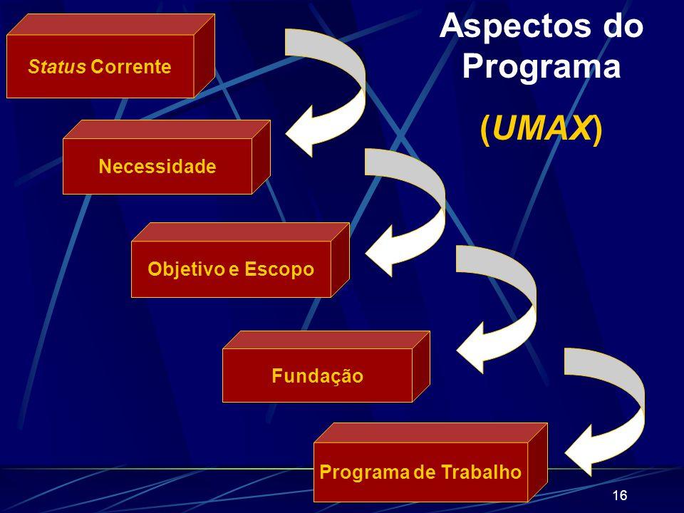 15 UM PROGRAMA DE GERENCIAMENTO DO CONHECIMENTO Objetivos: Ilustrar como uma organização particular formula seu vasto programa de KM. Coordenar e guia