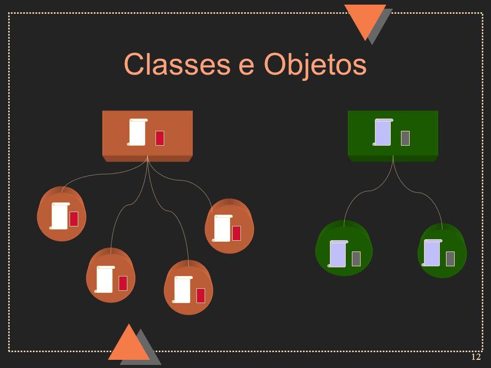 12 Classes e Objetos