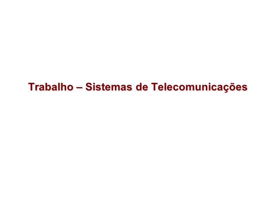 Projeto da Rede Metropolitada de Curitiba Fase 1: –Equipamentos para o backbone –Equipamentos para rede de acesso –Qualidade de serviço –Análise de custos de implantação e manutenção Fase 2: –Extensões de Segurança –Rede de Acesso Wireless