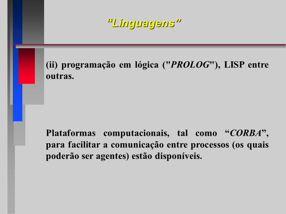 (ii) programação em lógica (