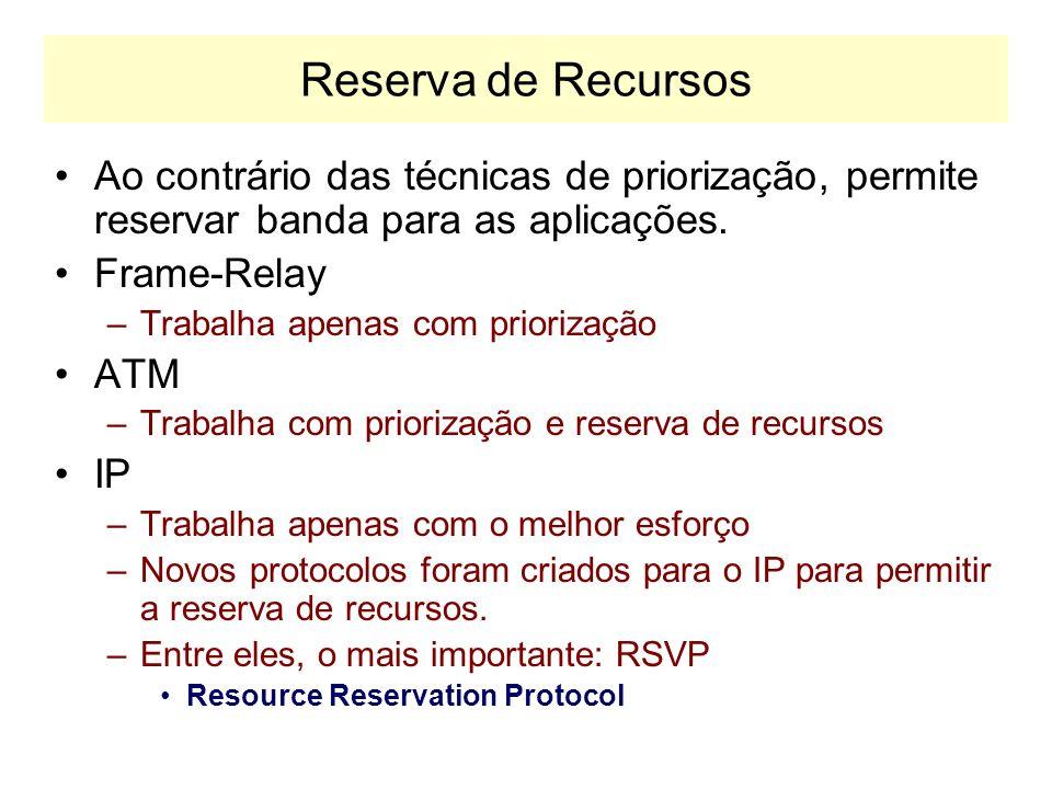 Ferramentas de Monitoramento de Controle de Tráfego FRTS –Frame Relay Traffic Shaping –As informações fornecidas pelo Frame Relay são usadas para cont