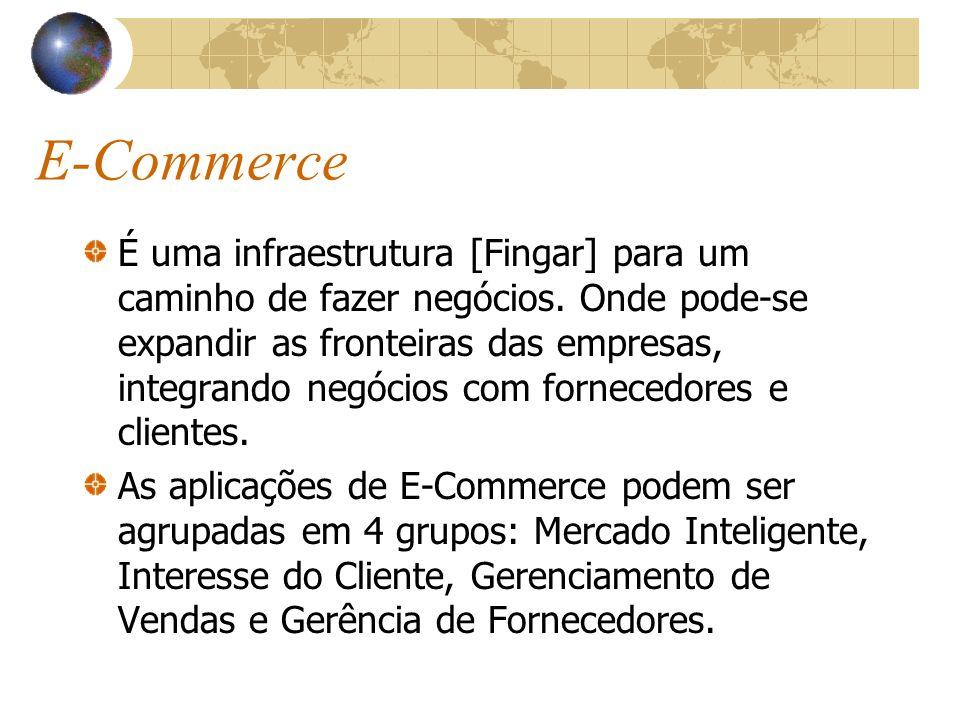 E-Commerce É uma infraestrutura [Fingar] para um caminho de fazer negócios.