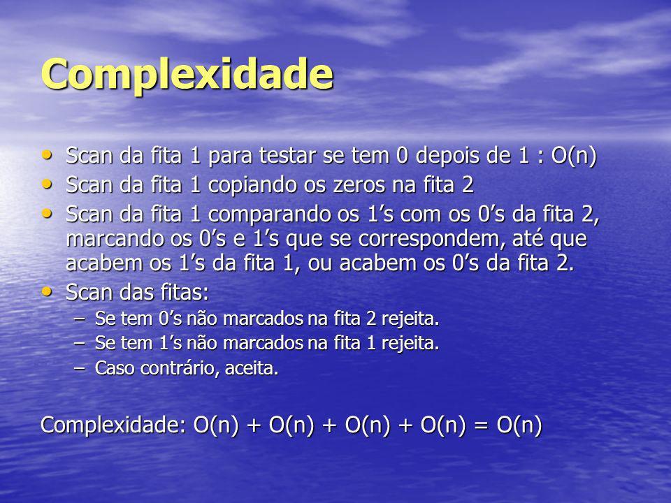 Relação da Complexidade entre Modelos Deterministas Seja t(n) n.