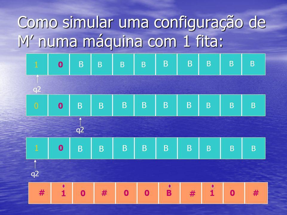 S = No input w faça: 1.