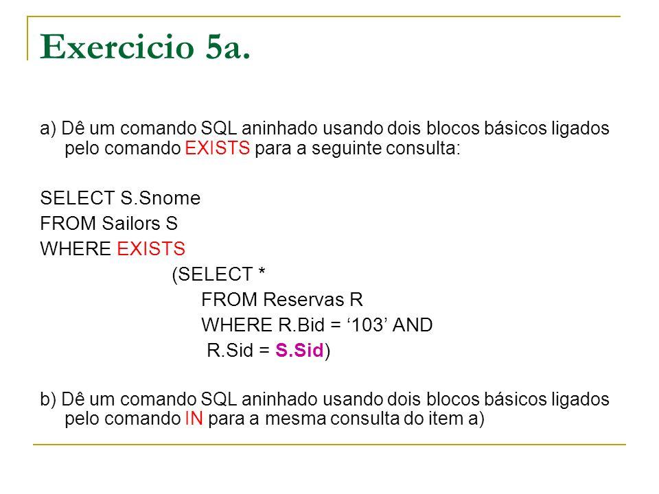 Exercicio 5b.