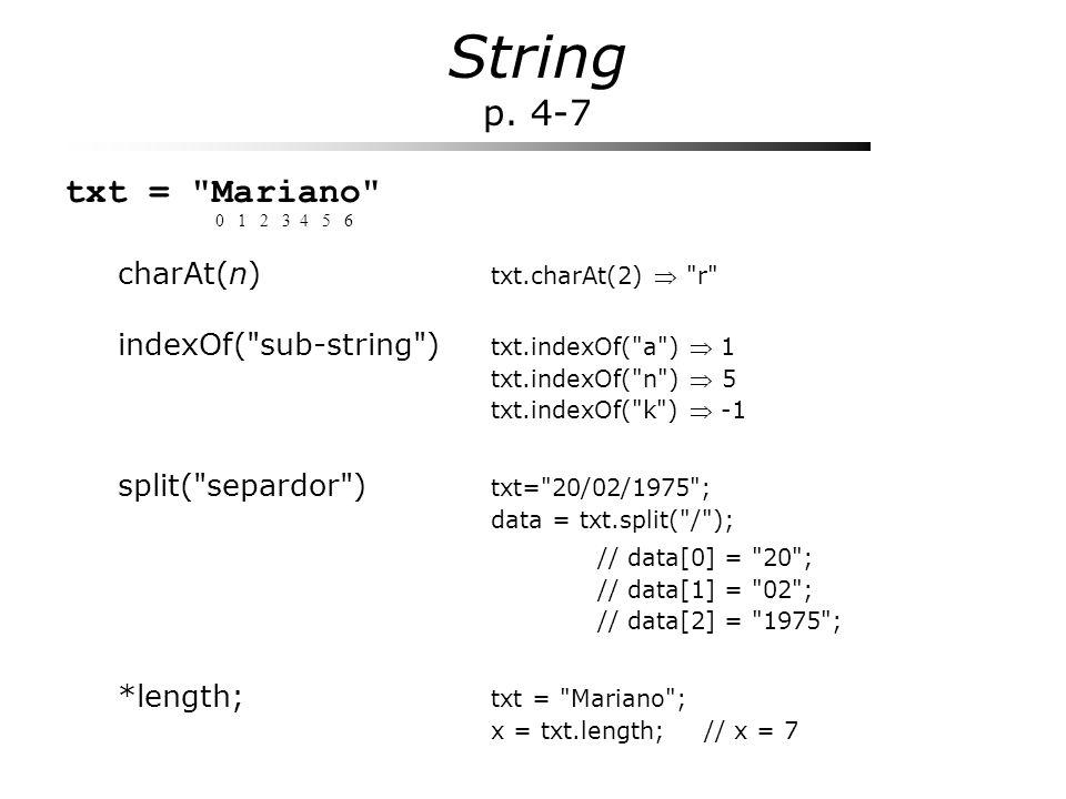 String p. 4-7 txt =