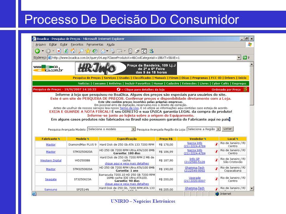 UNIRIO – Negócios Eletrônicos Propaganda Na Web Por que fazer propaganda na Internet.
