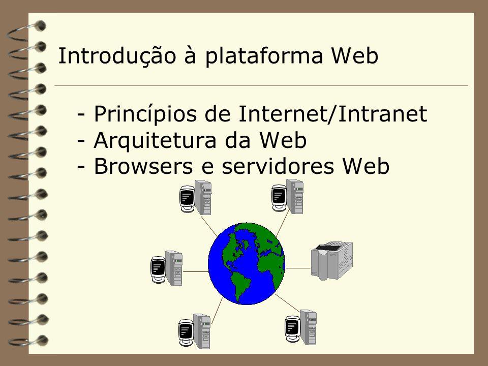 Serviços na Web 4 http É um servidor da World Wide Web que contém documentos no formato HTTP e significa HyperText Transfer Protocol.