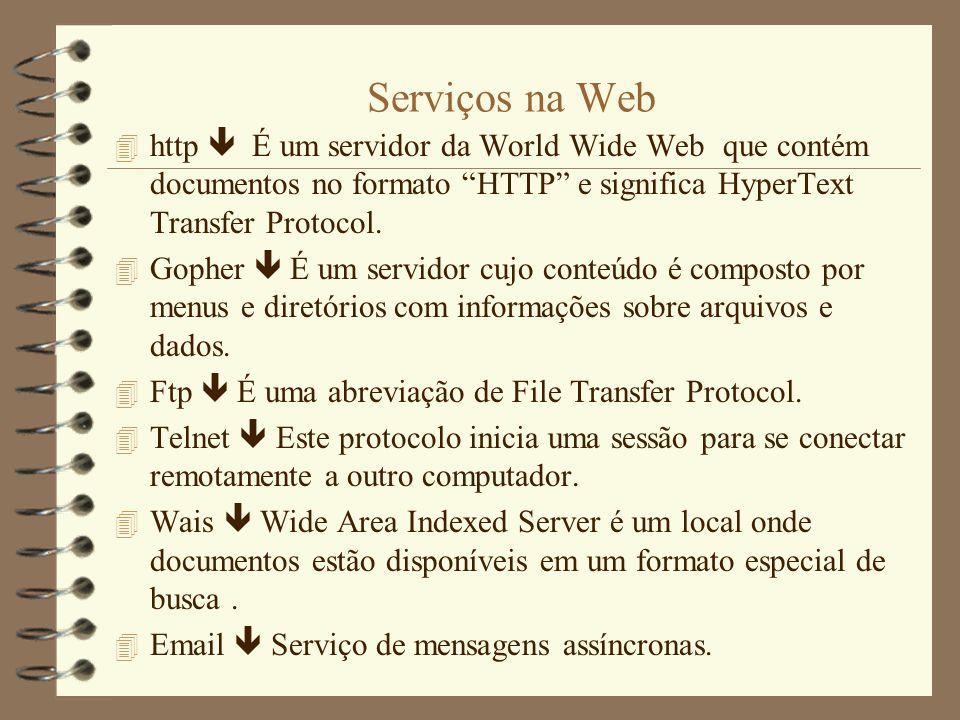O que é uma Web Page.