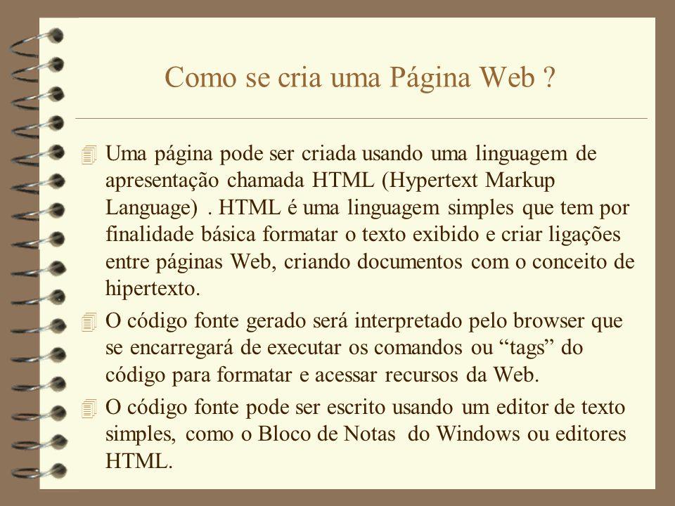 O Código Fonte da Página