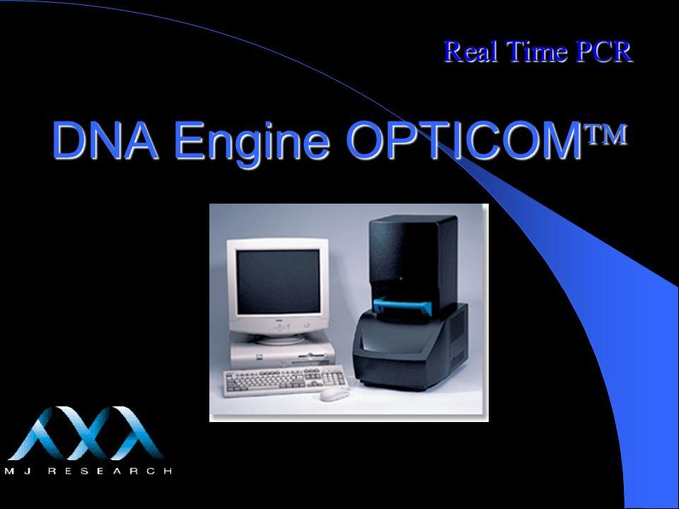 Carlos Martins 2/18/2014 DNA Engine OPTICOM DNA Engine OPTICOM Real Time PCR