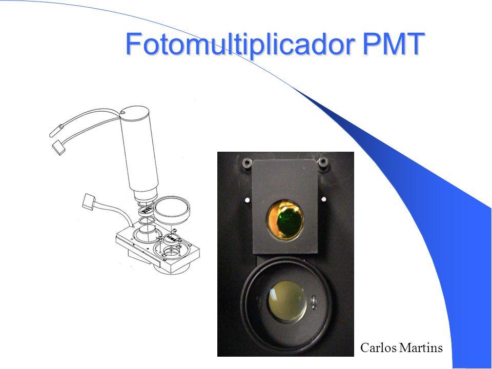 Carlos Martins Fotomultiplicador PMT
