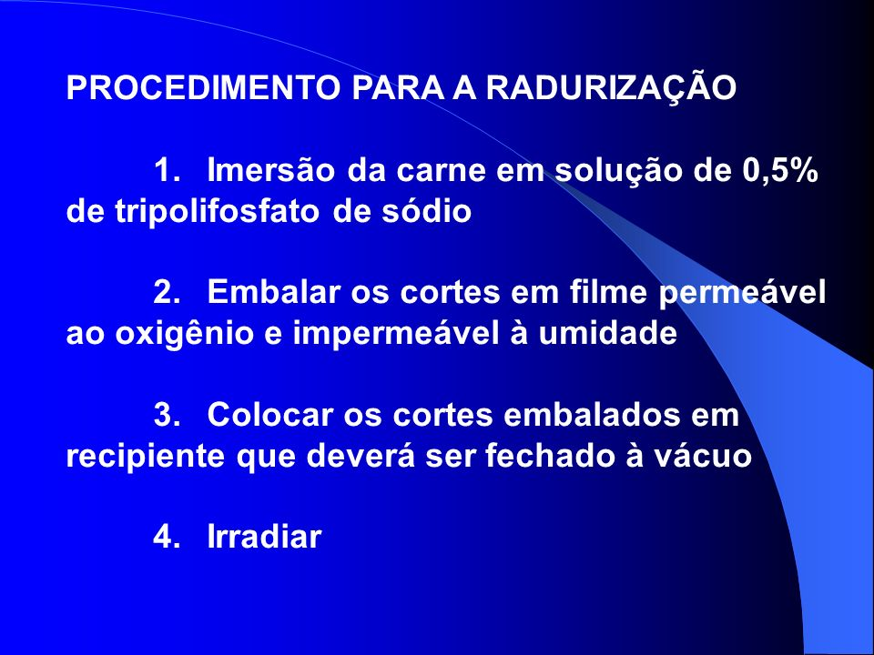 VANTAGENS DA RADAPERTIZAÇÃO EM RELAÇÃO AO PROCESSO TÉRMICO 1.
