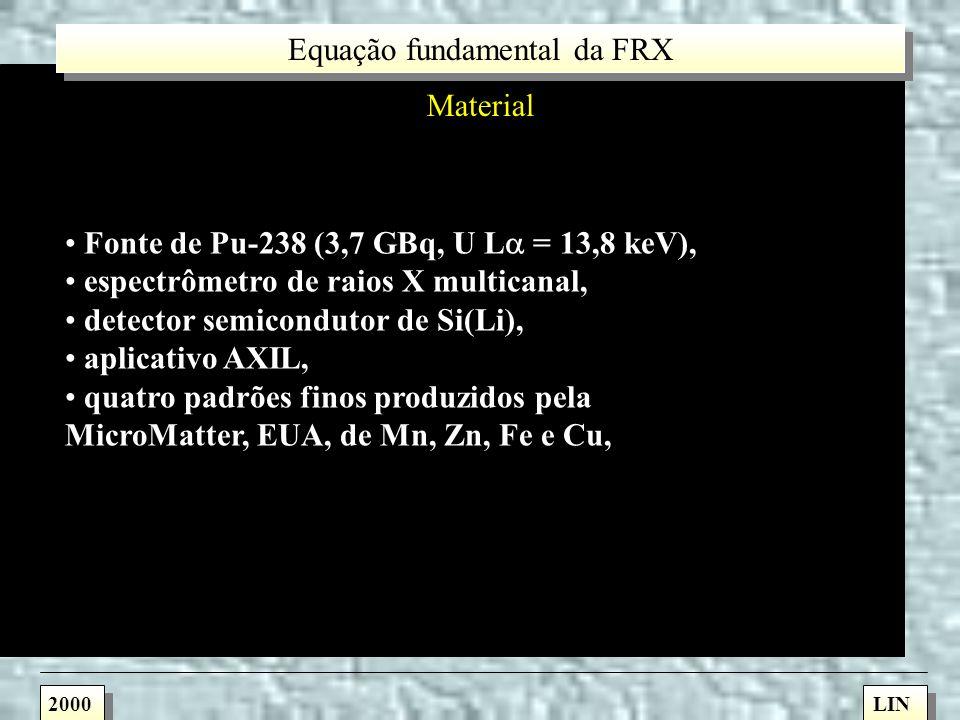 Análise de elementos minoritários em alumínio pela técnica de fluorescência de raios X por dispersão em energia (ED-XRF), empregando a equação dos par