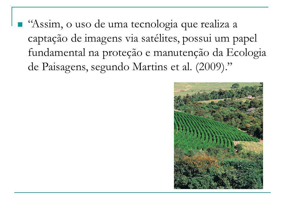 Assim, o uso de uma tecnologia que realiza a captação de imagens via satélites, possui um papel fundamental na proteção e manutenção da Ecologia de Pa