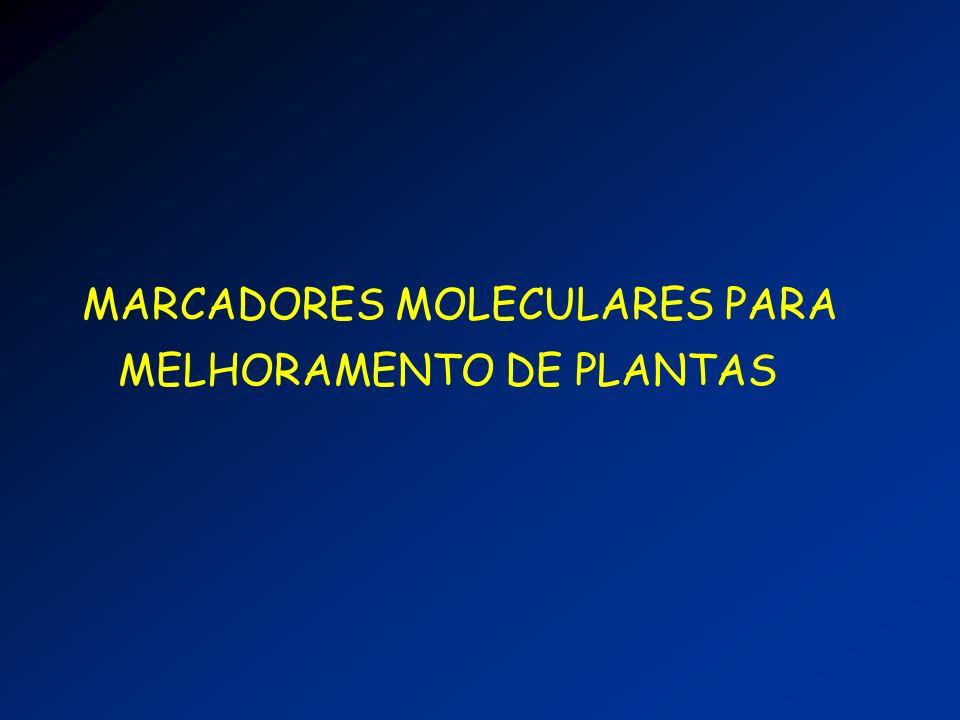 MARCADORES MOLECULARES PARA MELHORAMENTO DE PLANTAS