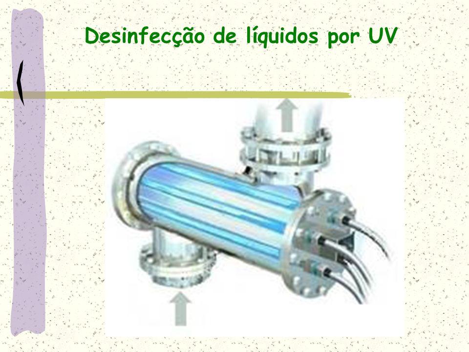 Desinfecção de líquidos por UV