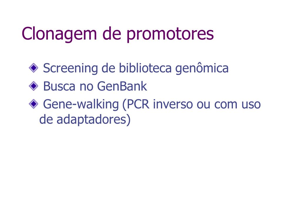 PCR inverso Ochman et al., 1988