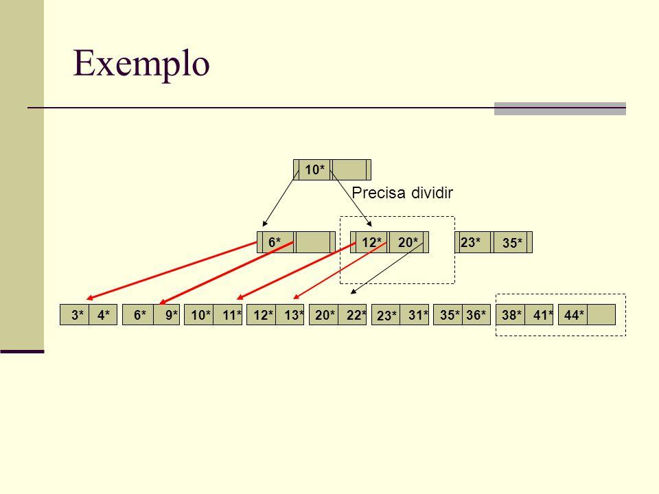 Exemplo 3*4*6*9*10*11*12*13*22*31*35*36*38*41*44* 6*12* 10* 20* 23* Precisa dividir 35*
