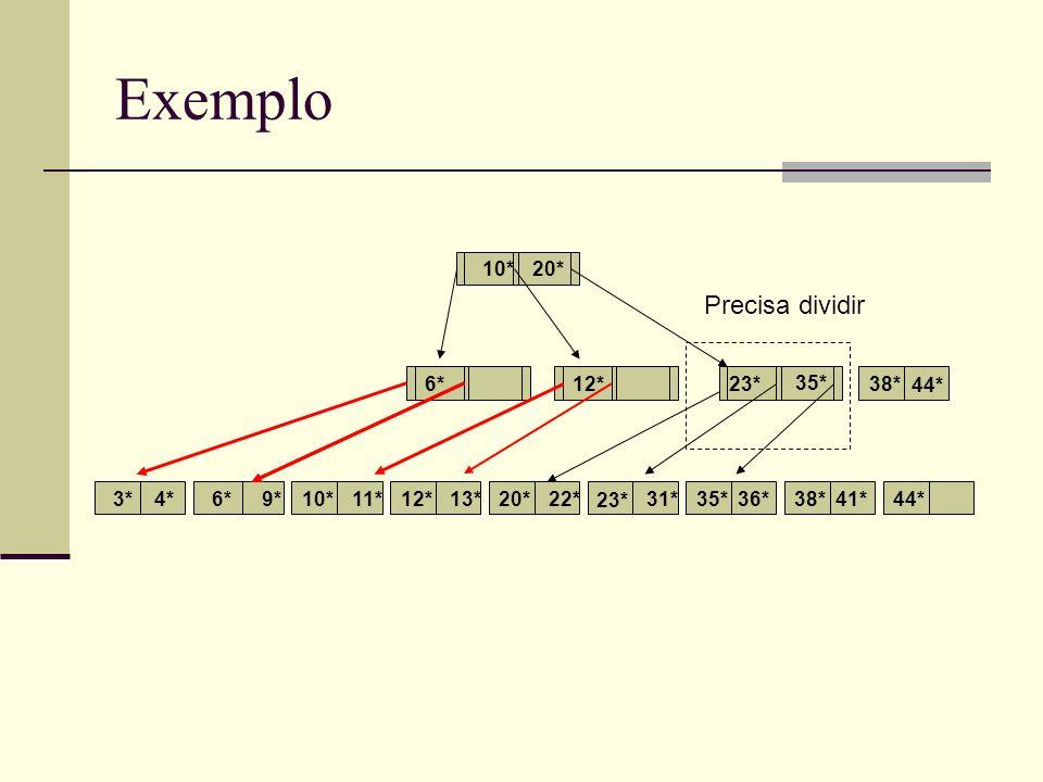 Exemplo 3*4*6*9*10*11*12*13*22*31*35*36*38*41*44* 6*12* 10* 20* 23* 20* 35* 38* 44* Precisa dividir