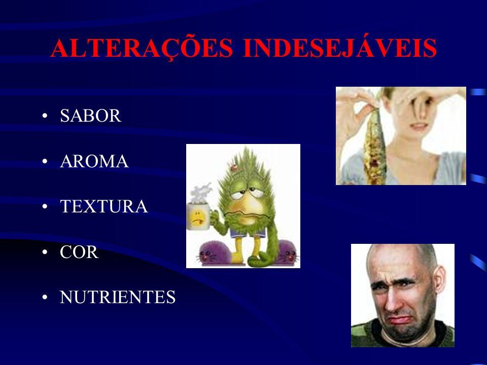 SABOR AROMA TEXTURA COR NUTRIENTES