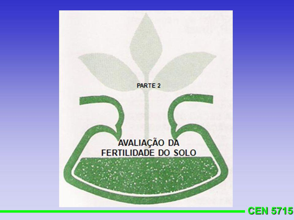 CEN 5715 Nitrogênio, videira Matéria orgânica PlantioAnos 12345 %N, kg/ha 2,5 203050 7090 2,6-5,0101525 3545 >5,0000000 A adubação nitrogenada deverá ser feita em duas ou três parcelas RS/SC