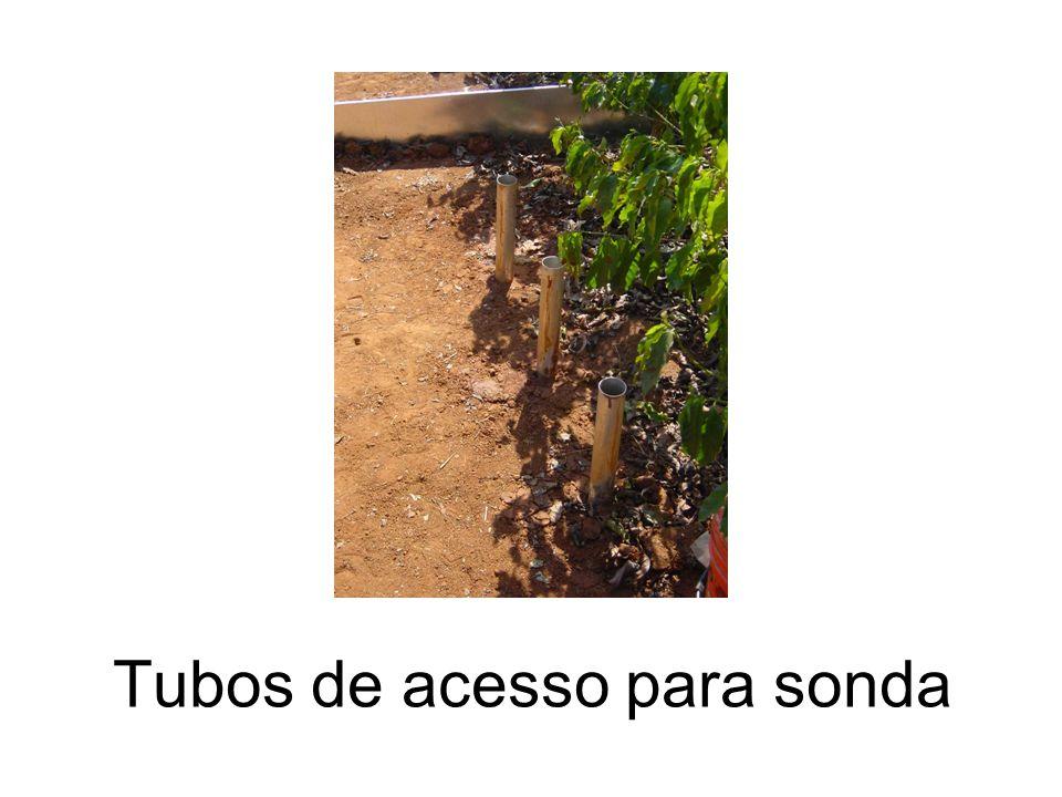 Tubos de acesso para sonda