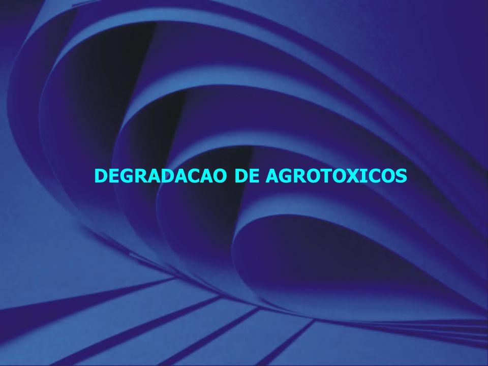 DEGRADACAO DE AGROTOXICOS