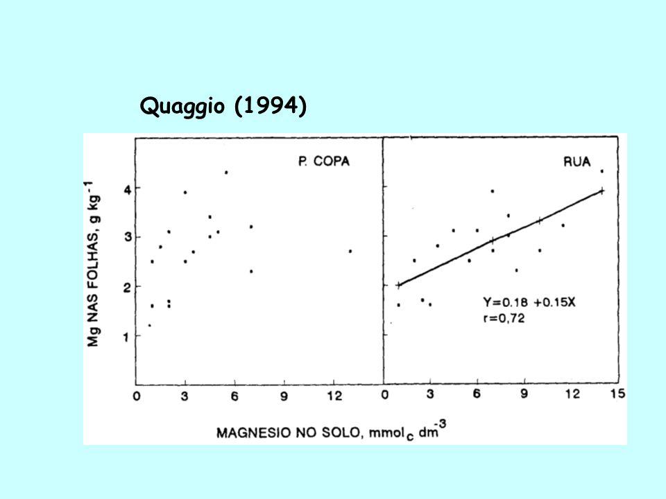 SP - Culturas anuais e perenes (plantio): 0-20 cm de profundidade PR - Pastagens: 0-10 cm Culturas perenes: 0-20 e 20-40 cm RECOMENDAÇÕES OFICIAIS