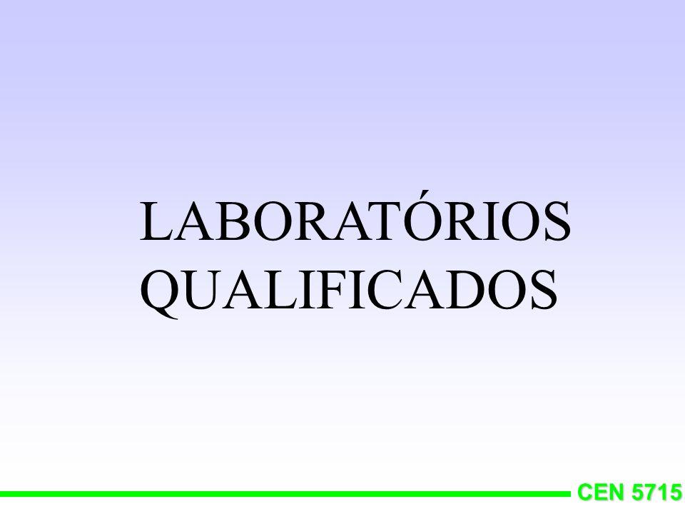 CEN 5715 Diferenças aceitáveis ou erros de laboratórios?