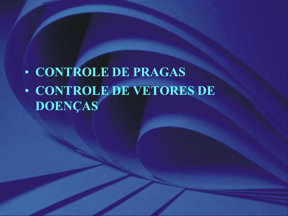 CONTROLE DE PRAGAS CONTROLE DE VETORES DE DOENÇAS