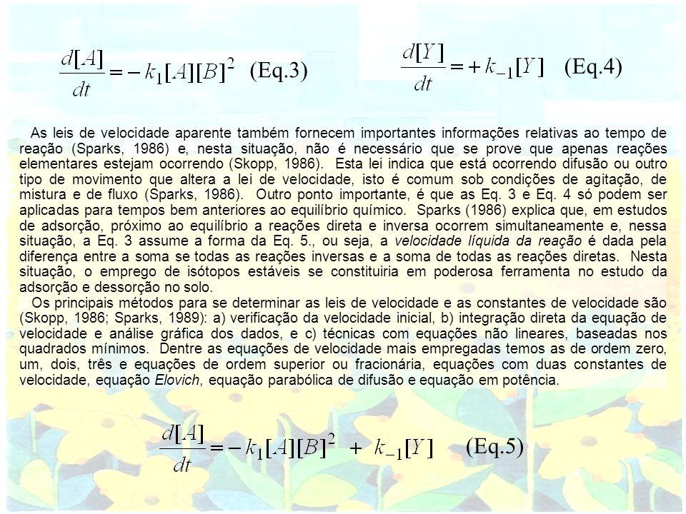 As leis de velocidade aparente também fornecem importantes informações relativas ao tempo de reação (Sparks, 1986) e, nesta situação, não é necessário
