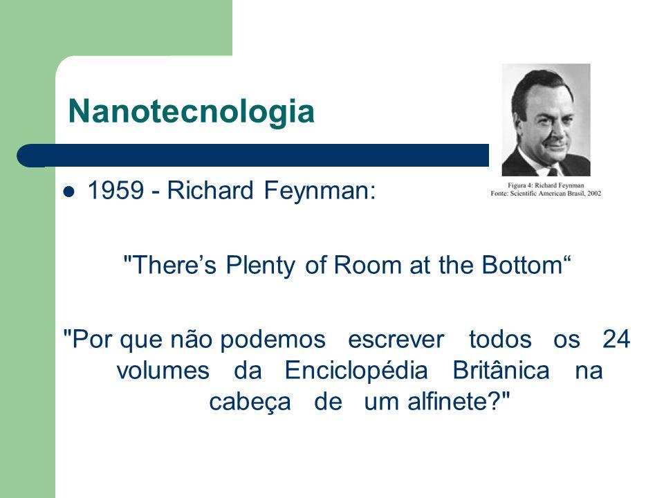 Nanotecnologia 1959 - Richard Feynman: