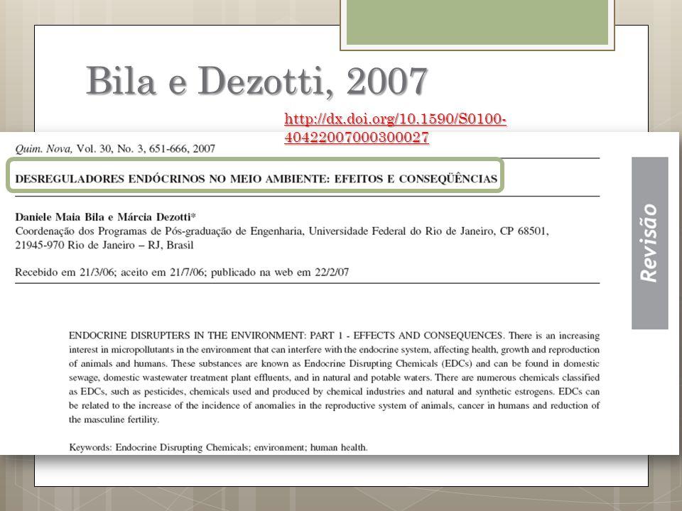 Bila e Dezotti, 2007 http://dx.doi.org/10.1590/S0100- 40422007000300027