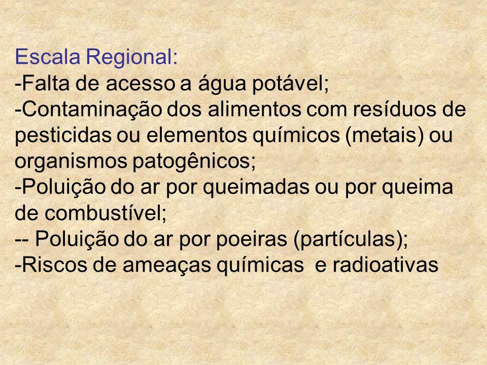 Exemplos de Riscos a Saúde : Físico: Barulho, iluminação, radiação, vibração, temperatura, eletricidade, etc.