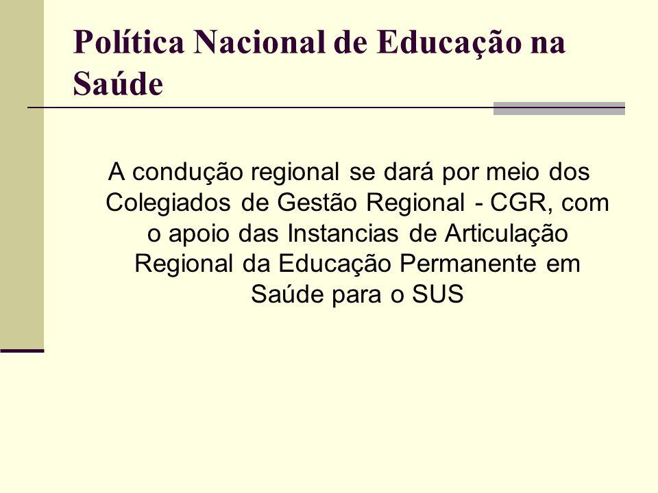 Vamos começar a trabalhar junto com a gestão, a participar dos processos políticos institucionais.