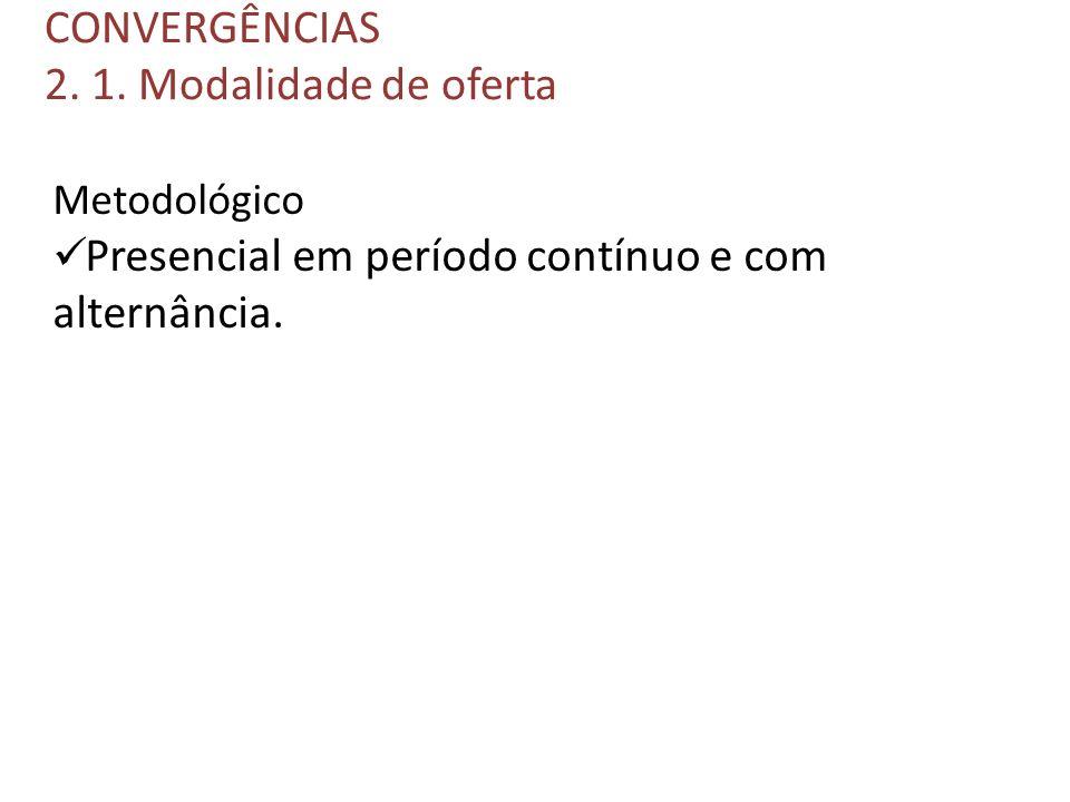 CONVERGÊNCIAS 2. 1.