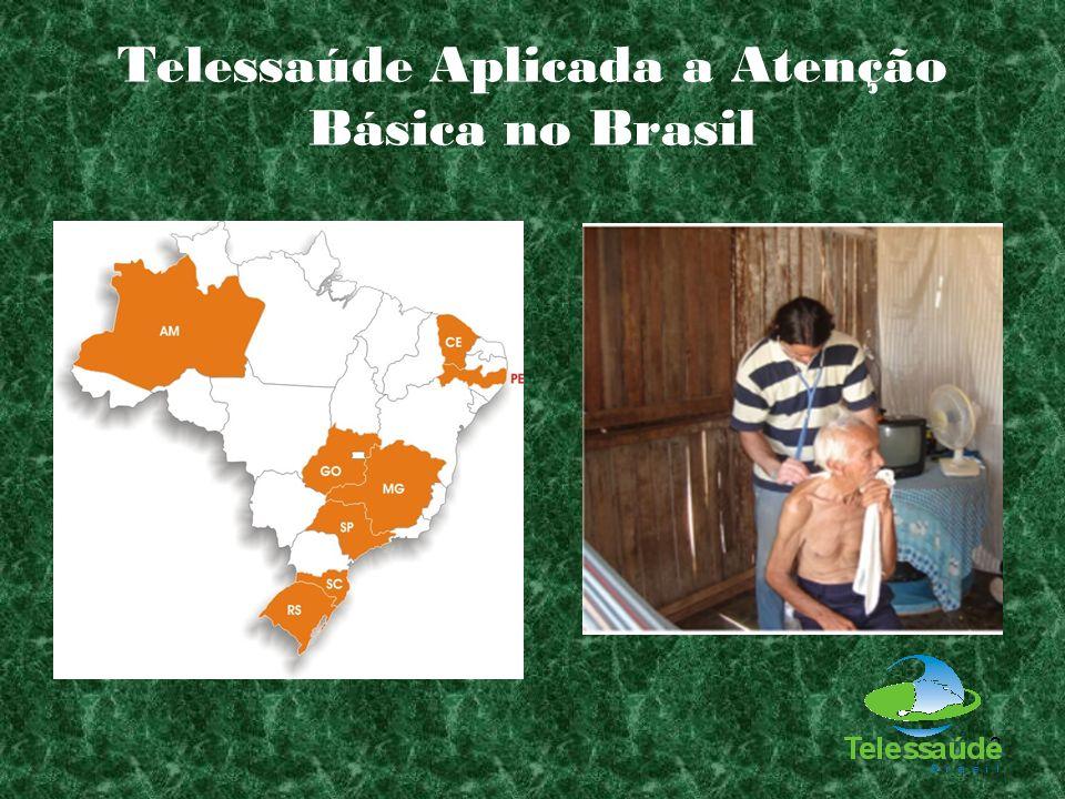 2 Telessaúde Aplicada a Atenção Básica no Brasil