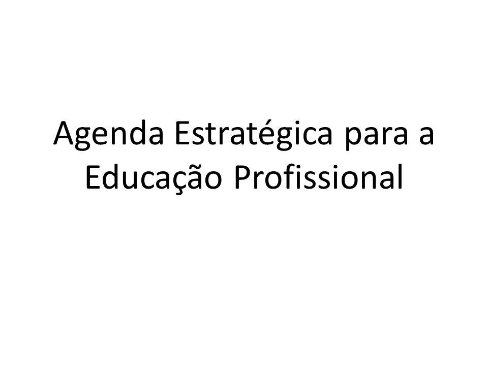 Agenda Estratégica para a Educação Profissional