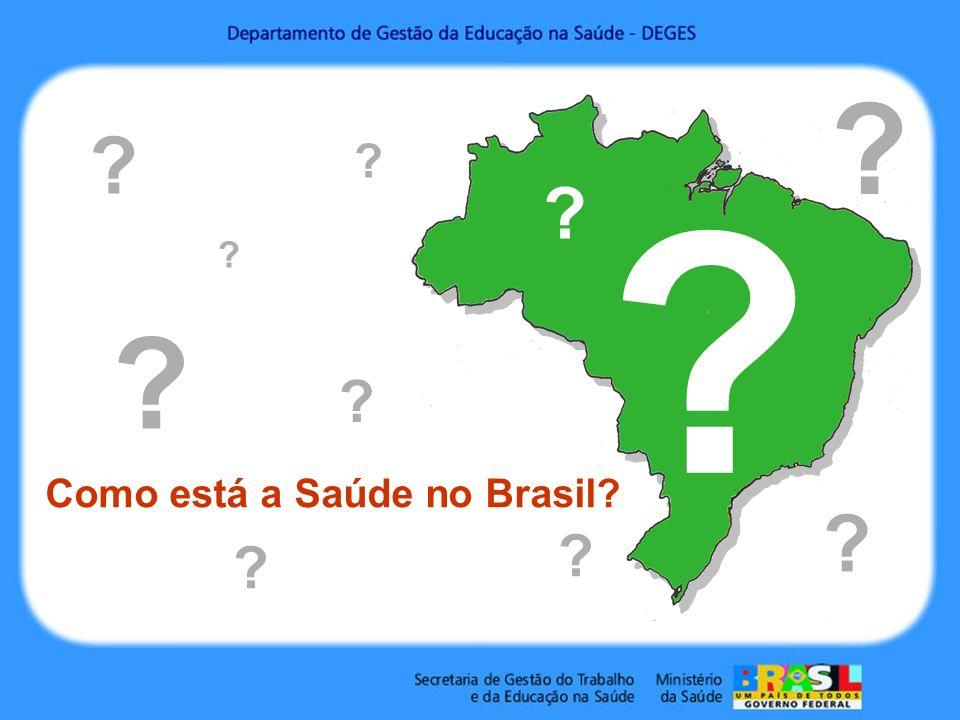 Como está a Saúde no Brasil? ? ? ? ? ? ? ? ? ? ? ?