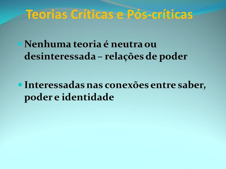 Teóricos: Tomaz Tadeu, Guacira Lopez, Derrida, Gattari, Foucault Gênero, raça, etnia, identidade, diferença, subjetividade, significado, discurso, alt