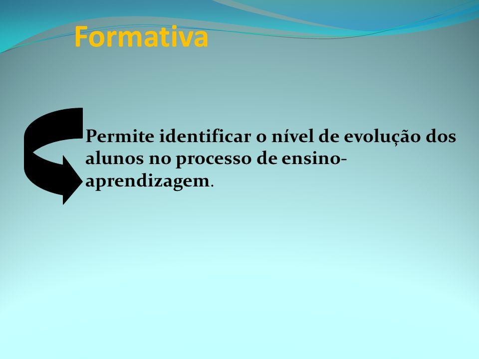 Diagnóstica inicial Os instrumentos utilizados nesse tipo de avaliação, conjugados entre si ou não, podem ser: Exercícios de simulação; Realização de